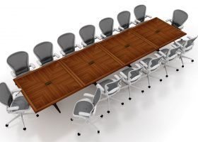 SV Capital Custom Modular Conference Table