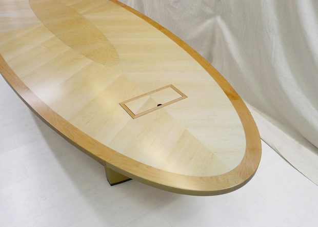 Threshold Group Oval Conference Room Table