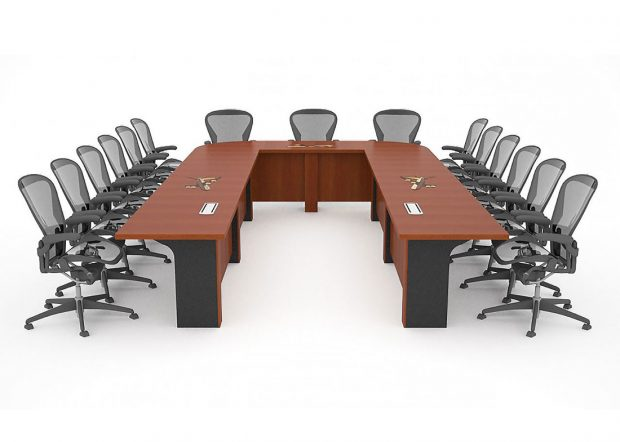 Tinker Air Force Base U Shaped Conference Table