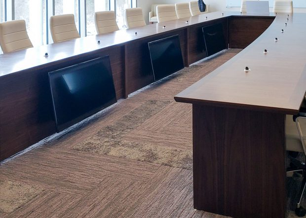 UGI Utilities Video Conference Table with Power