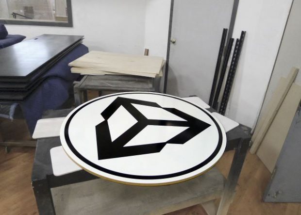 Unity Conference Table with Custom Logo