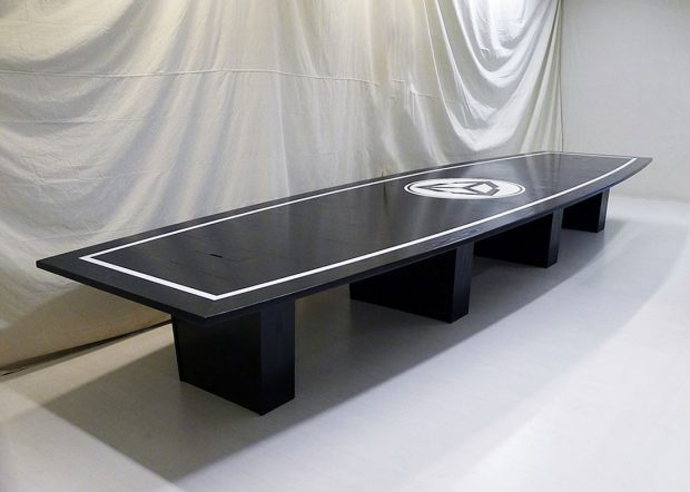 Unity Custom Long Conference Table