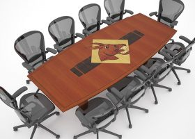 University of Central Missouri 10 Person Conference Table