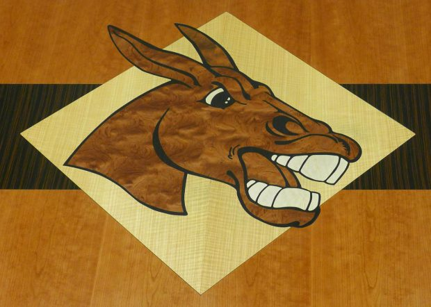 University of Central Missouri Logo Conference Table