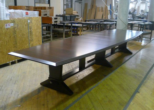 Vehicle Acceptance Corp Conference Table with Power