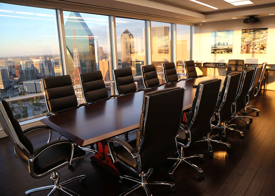 Vehicle Acceptance Corp Premium Boat Shaped Conference Table