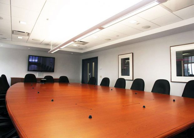 Verizon Custom Cherry Conference Table