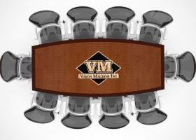 Vision Machine Custom Small Conference Table