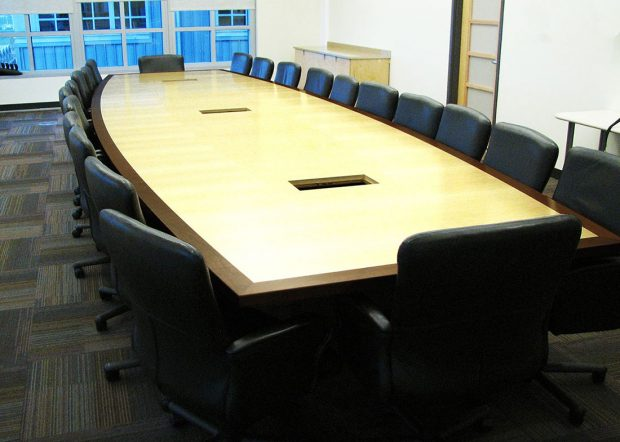 Visteon Corporation Custom Long Conference Table
