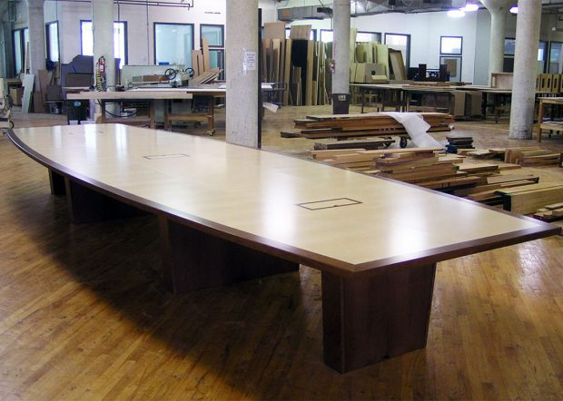 Visteon Corporation Custom Long Meeting Table
