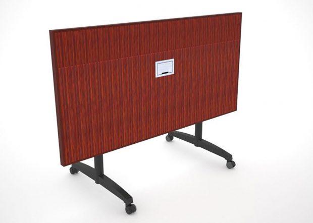 WACIF Folding Conference Table on Wheels