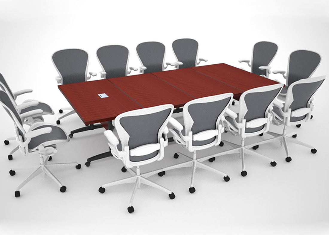WACIF Folding Modular Conference Tables  Paul Downs Cabinetmakers