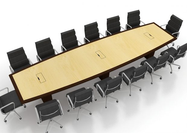 WatchGuard Custom Conference Table with Power