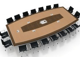 WatchGuard War Room Large Conference Room Table