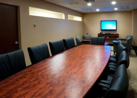 Ween & Kozek Custom 9 Foot Conference Table