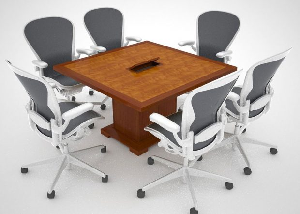 Whitetail Club Custom Modular Conference Room Tables