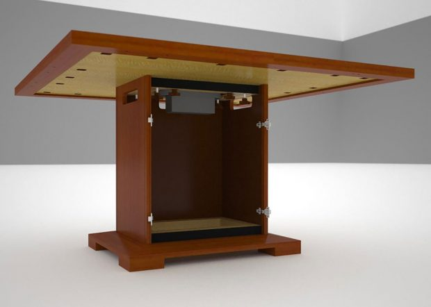 Whitetail Club Modular Conference Table with Power Hatch