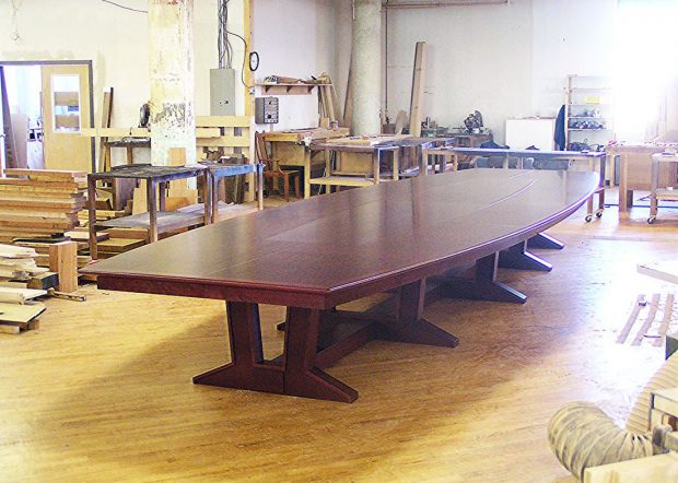 Williams Morgan Large Conference Room Table