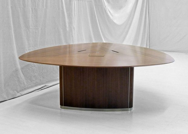WK Triangular 6 Person Conference Table