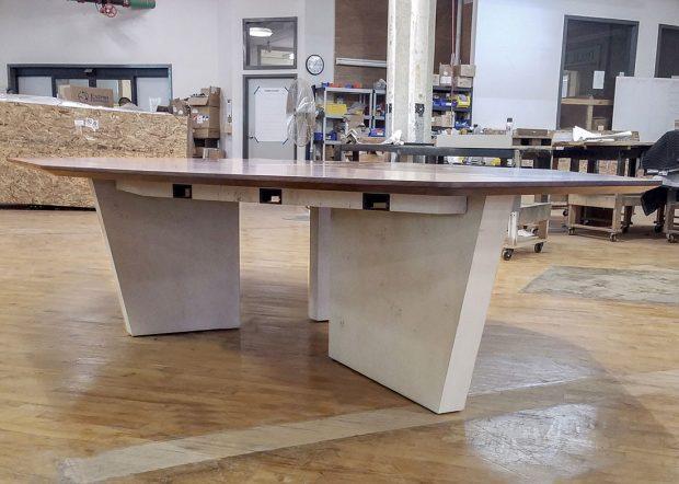 Zwilling Custom Boardroom Meeting Table