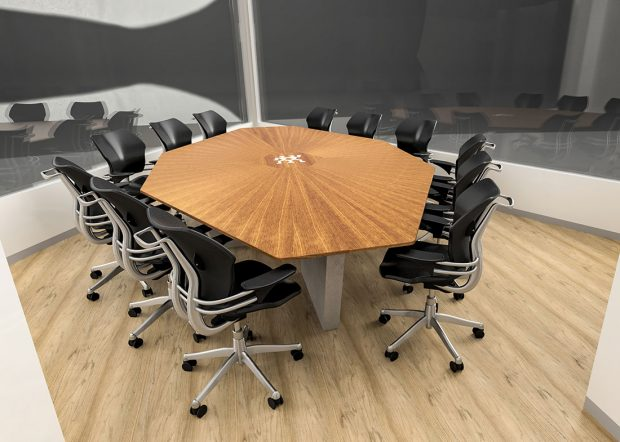 Zwilling Solid Wood Conference Table