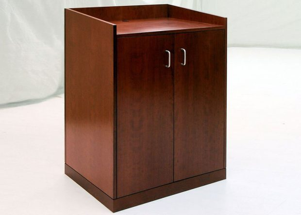 Andrews AFB Standing Lectern with Storage