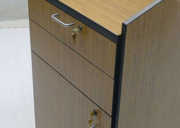 Bank Institution Custom Built Lectern with AV