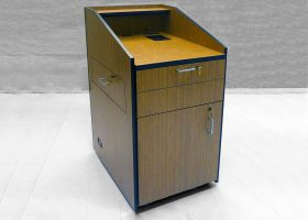 Bank Institution Multimedia Lectern