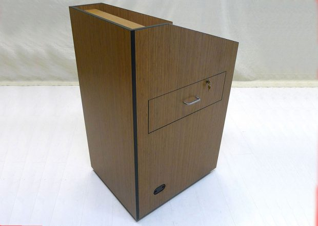 Bank Institution Wooden Lectern