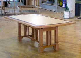 Brandywine 7 Foot Wooden Dining Table
