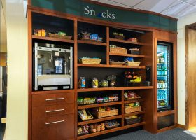 Churchill Custom Office Shelving for Snacks