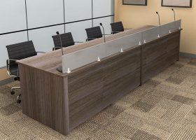 Convention Center Custom Reception Desk