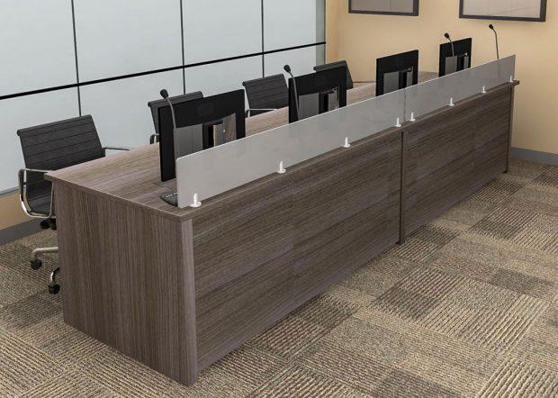 Convention Center Modern Reception Desk