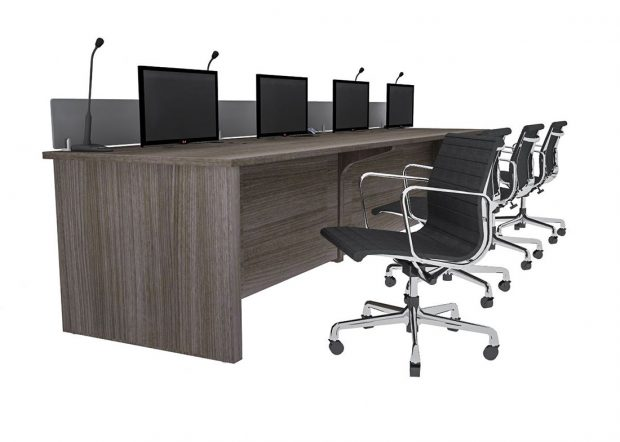 Convention Center Office Reception Desk