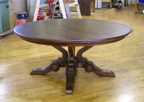 Fairmount 6 Foot Round Dining Table