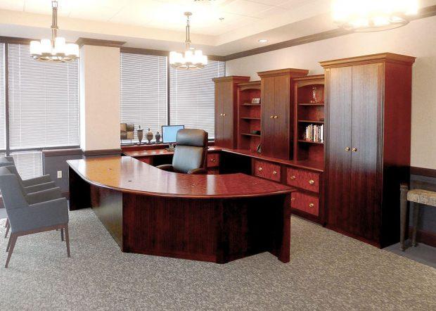 G-D Custom Executive Office Desk