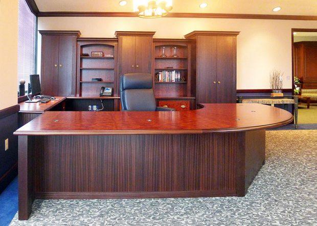 G-D Large Curved CEO Desk