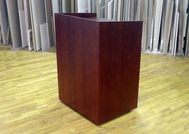 Gardner Denver Custom Wood Standing Lectern