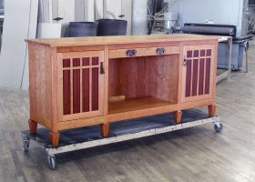 Gausling 7 Foot Custom Office Credenza