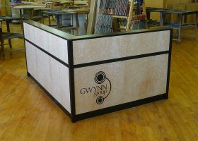 Gwynn Custom L Shaped Reception Desk