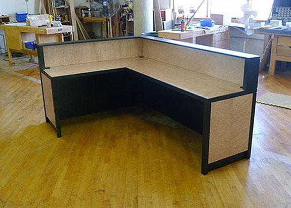 Gwynn Custom Office Reception Desk