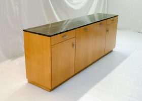 H2L2 8 Foot Marble Top Credenza