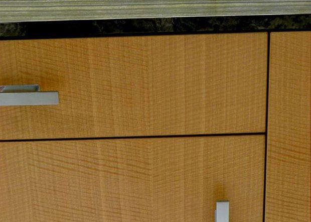 H2L2 Modern Wood Credenza