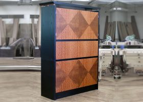 Lapensohn Custom Office Cabinet
