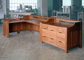 Leboy Large Home Office Desk