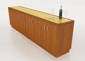 Lockheed Martin Custom Credenza Cabinet