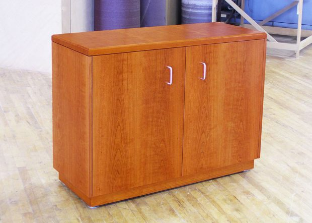 Michigan State University Custom Wood Credenza