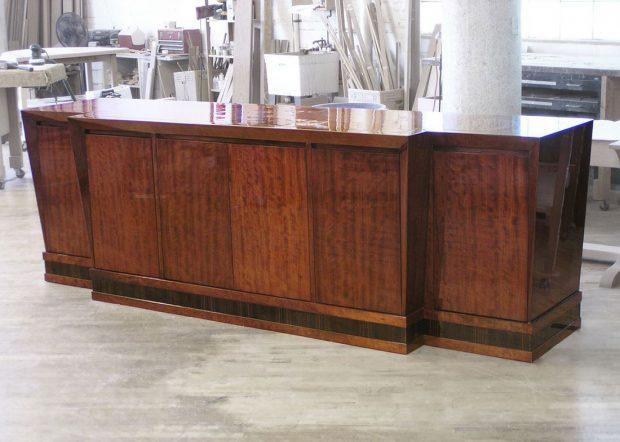 Sartini Large Modern Wood Credenza