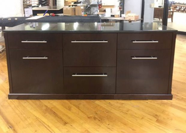 TM Bar Credenza with Fridge