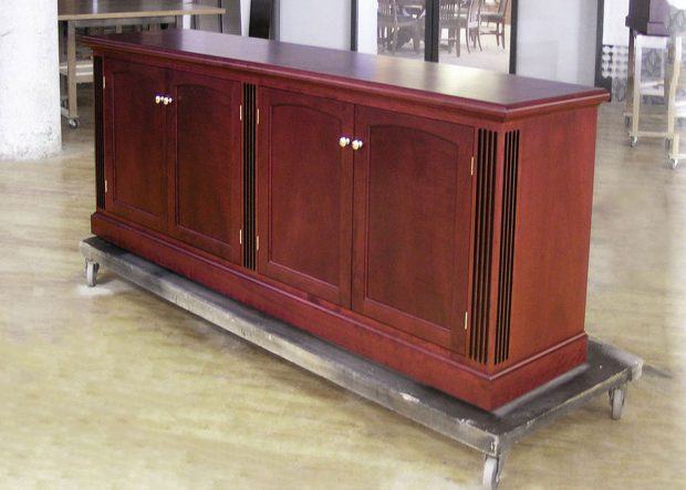 Williams Morgan Custom Boardroom Media Credenza